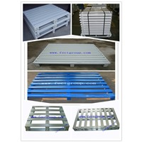 Hot galvanizing steel foldable tire pallet for sale in china