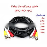 Video Surveillance Cables / CCTV cable video audio and power cable