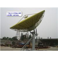7.5m motorized satellite TV Antenna