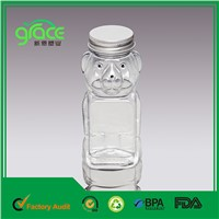 LG-02 170ml Aluminum Small Bear Shape Jar