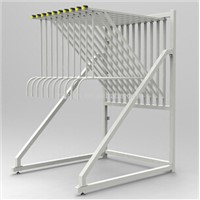 Metal Display Stand Shelf for Carpet Showroom Exhibition Display Holder