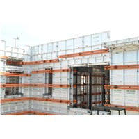 Geto Recycled 300 times Concrete aluminum  Formwork System