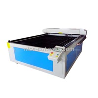 NC-C1325 computer controlled fabric cutting machine with 130w laser power supply