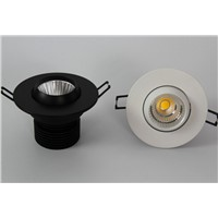 SAA ROHS CE Apporved 7w COB LED Recessed Lighting