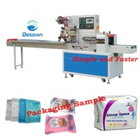 Sanitary towel packaging machine sanitarnapkins packaging machine sanitary pads packaging machine