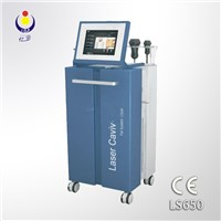 LS650 laser beauty machine with vacuum,ultrasonic