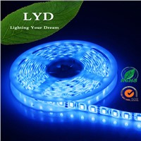 factory price led strip 5050 rgbled Flxible Strip blue color LED strip lights