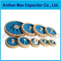 RF Power plate / disk ceramic capacitor