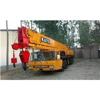 used kato 50t mobile truck crane , kato nk-500e-v used 50ton crane