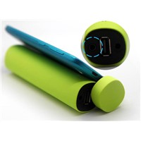 4000mAh OEM mobile phone holder Power bank with loud speaker