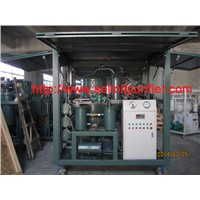 Double-stage vacuum Transformer oil filtration plant for maintain power Transformer