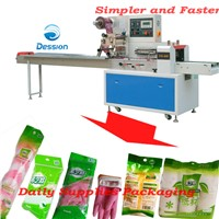 Packaging machine for clip/ear phone/headset/earpiece/dish towel packing packaging wrapping machine