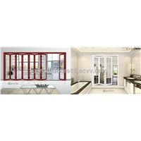 hotsale aluminium alloy folding doors with top quality