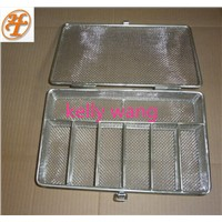 stainless steel high temperature sterilizing mesh basket