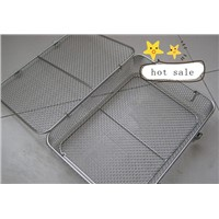 stainless steel 304,316 high temperature clean wire mesh basket