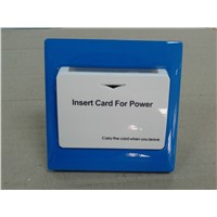 Electric card switch hotel with data identification