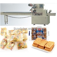 Waffles Flow Packaging Machine
