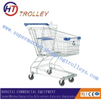 Coin Lock 100L Asia Style Shopping Trolley