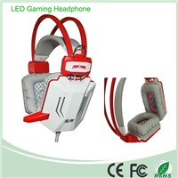 2014 HOT Selling Custom Design 7 Colors Changing Function Computer Headset with High Performance