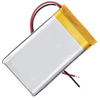 3.7V Li-polymer Battery with 5900mAh, Used in Mobile Power