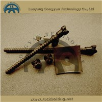 GY hollow bar self drilling anchor bolt for tunneling support