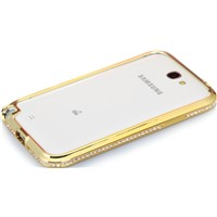 Crystal Rhinestone Inlaid Metal Frame Bumper for iPhone 5/5s