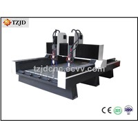 Heavy Stone CNC Engraving machine with double heads