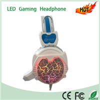 LED Lighting Wired USB Gaming Headset For PC/MAC
