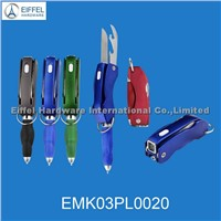Promotional Multi tool with pen and LED light(EMK03PL0020)
