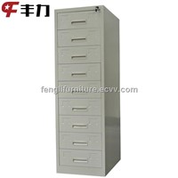 Office furniture K/D structure durable design metal multi drawer cabinet