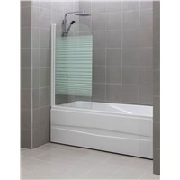 SY327 Single Bath Screen 5mm