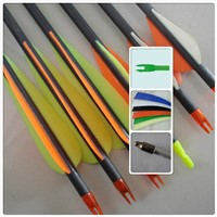 carbon arrow, completed arrow, arrow shaft, archery arrow