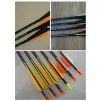hunting arrow, archery arrow, carbon arrow shaft