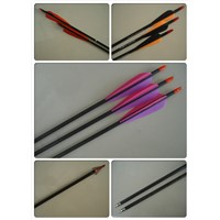 carbon fiber arrow, archery arrow, carbon arrow shaft, spine 300 arrow