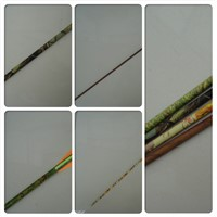 camo arrow, archery arrow, carbon arrow shaft