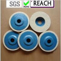 Wool felt wheel felt disc for polishing