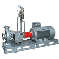 Caustic soda pump