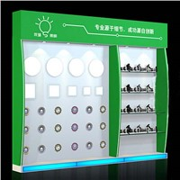 Factory Supply Display Shelf Racks for LED Lamps Exhibition Board