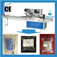 Hardware/Faucet/tube/precision part/straight tee packaging machine wrapping machine pack in bag