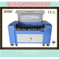 Plywood Engraving and Cutting machine TZJD-1280 Laser machine