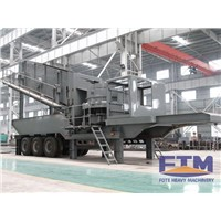 Tyre Type Multistage Combination Of Mobile Crusher Station