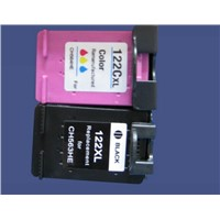Printing ink cartridge for HP 122XL CH563HE CH564HE  printer ink cartridge for HP122