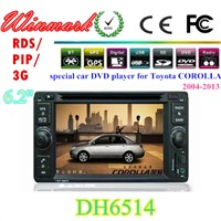 6.2inch Touch Screen Car DVD Player for Toyota Corolla in Dash DH6514