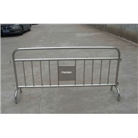 Interlocking Barricade Fencing for Perimeter Security Bike Rack Barrier with Standard Hooking