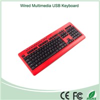 Made In China Hot Selling Wired USB  Multimedia Keyboard