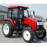 ce certificated 55HP 4x4 farm tractor
