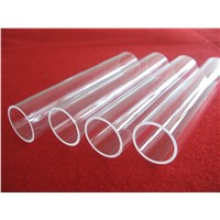 high fused clear quartz tube  in good quality