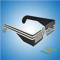 Cheap Paper circular polarized 3d glasses