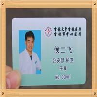 Plastic PVC Employee ID Card