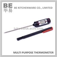 Food probe high range high accuracy digital thermometer
